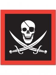 16 Tovaglioli di carta Pirata