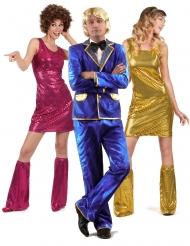 Costume di gruppo Cantante disco e ballerine