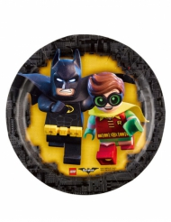 8 piattini di carta Lego Batman™