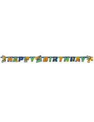 Ghirlanda in cartone Happy Birthday Tartarughe Ninja™ 180 x 15 cm