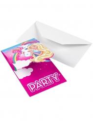 8 Inviti di compleanno Barbie™