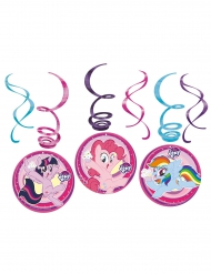 6 sospensioni a spirale My little pony™