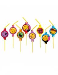 8 Cannucce Smiley World™