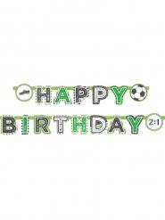 Ghirlanda in cartone Happy Birthday calcio