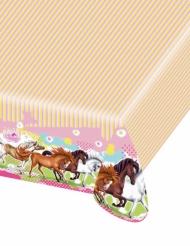 Tovaglia in plastica Charming Horses 120 x 180 cm