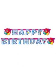Ghirlanda in cartone Happy Birthday