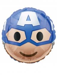 Palloncino in alluminio Capitan America™ Emoji™ 43 cm