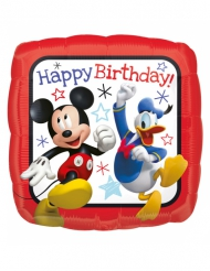 Palloncino in alluminio Happy Birthday Topolino™ e Paperino™