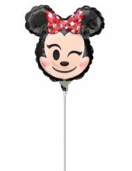 Palloncino in alluminio Minnie Emoji™ 22 cm