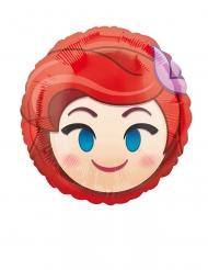 Palloncino in alluminio Ariel Emoji™ 23 cm