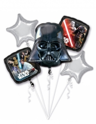 5 Palloncini in alluminio Star Wars™