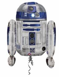 Palloncino in alluminio R2D2 Star Wars™ 55 x 66 cm