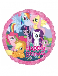 Palloncino in alluminio Happy Birthday My Little Pony™ 43 cm