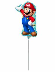 Palloncino in alluminio Super Mario™ 20 x 30 cm