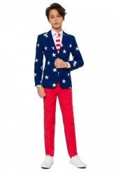 Costume Mr USA adolescente Opposuits™