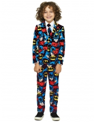 Costume da Mr. Batman concept Opposuits™ per bambino