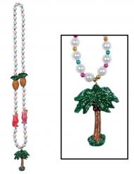 Collana di perle hawai ananas palme e cocktail 1 m