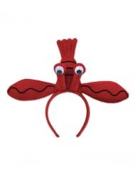 Cerchietto aragosta rossa