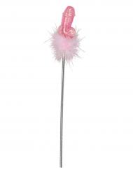 Bacchetta umoristica rosa per adulto 47 cm