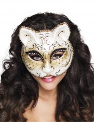 Maschera veniziana gatto