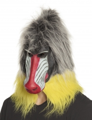 Maschera in lattice da babbuino per adulto