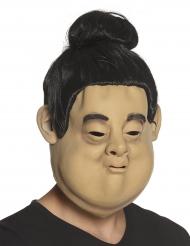 Maschera da lottatore di sumo in lattice