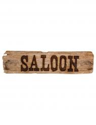 Decorazione insegna Saloon Western Wild West
