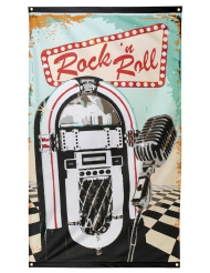 Bandiera Rock e Roll 90 x 150 cm