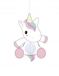 Decorazione da appendere Unicorno bebe 25 cm