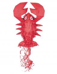 Piñata aragosta rossa