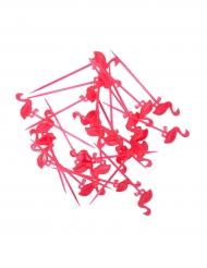 24 Stuzzicadenti con Fenicottero rosa