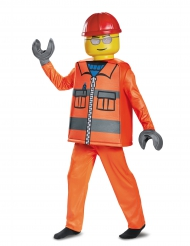 Costume deluxe Operaio da Cantiere Lego™ per bambino
