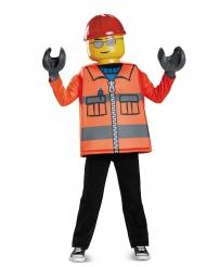 Costume Operaio di cantiere Lego™ per bambino