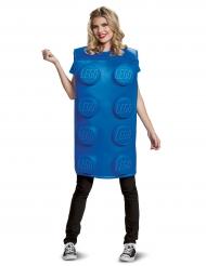 Costume da mattoncino Lego™ blu per adulto