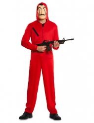 Costume da rapinatore La casa di Carta™ per adulto