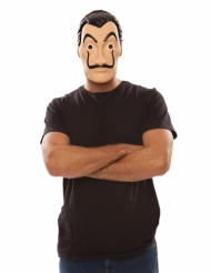 Maschera da rapinatore La casa di carta™ per adulto