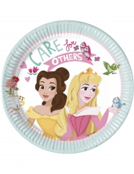 8 piattini di carta Principesse Disney™ Care for others