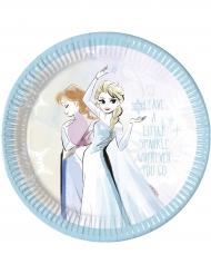 8 piatti di carta Frozen™