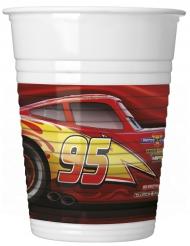 8 bicchieri di plastica Cars 3™