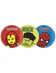8 piatti di carta Avengers™