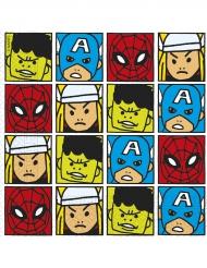 20 tovaglioli Avengers™ colorati