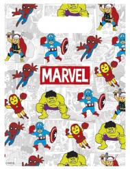 6 sacchetti regalo Avengers™ colorati