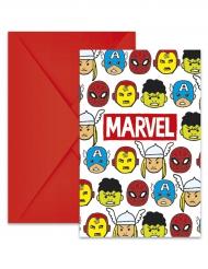 6 buste + inviti Avengers™