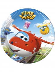 8 piatti di carta Super Wings™