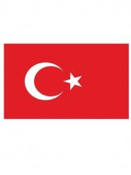 Bandiera della turchia 90 x 150 cm