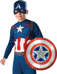 Kit maschera e scudo Capitan America™ bambino