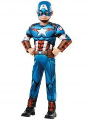 Costume Deluxe Capitan America™ serie animata per bambino