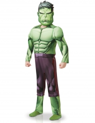 Costume deluxe Hulk™ serie animata per bambino