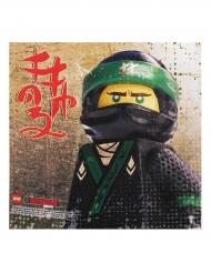 20 Tovaglioli in carta Lego Ninjago™