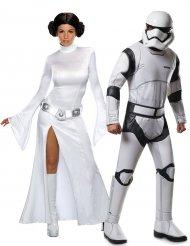 Costume di coppia Principessa Leila e Stormtrooper - Star Wars™